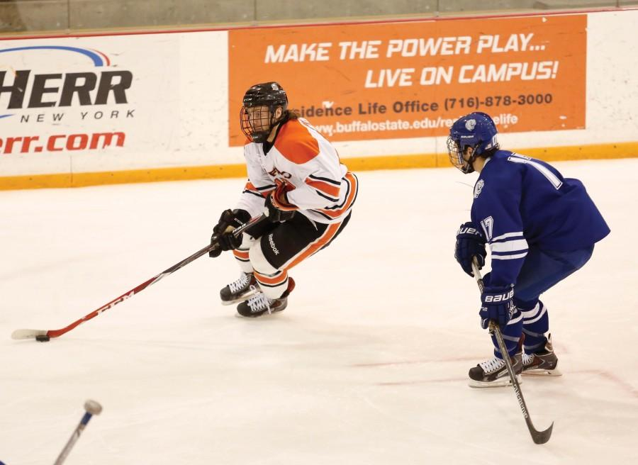 Men's hockey hits stride at right time