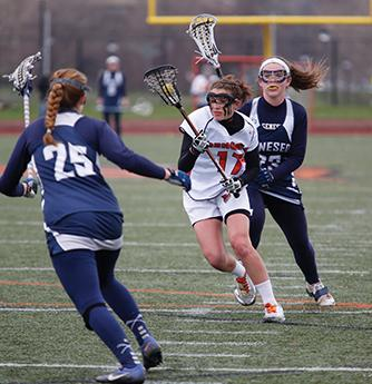 Women's lacrosse starts season with a split
