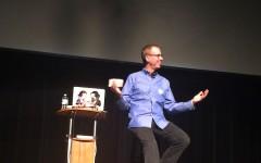 """""""PostSecret Live!"""" creator Frank Warren gives safe haven for students' secrets"""