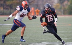 Football fails to find offensive stride, falls to Morrisville State