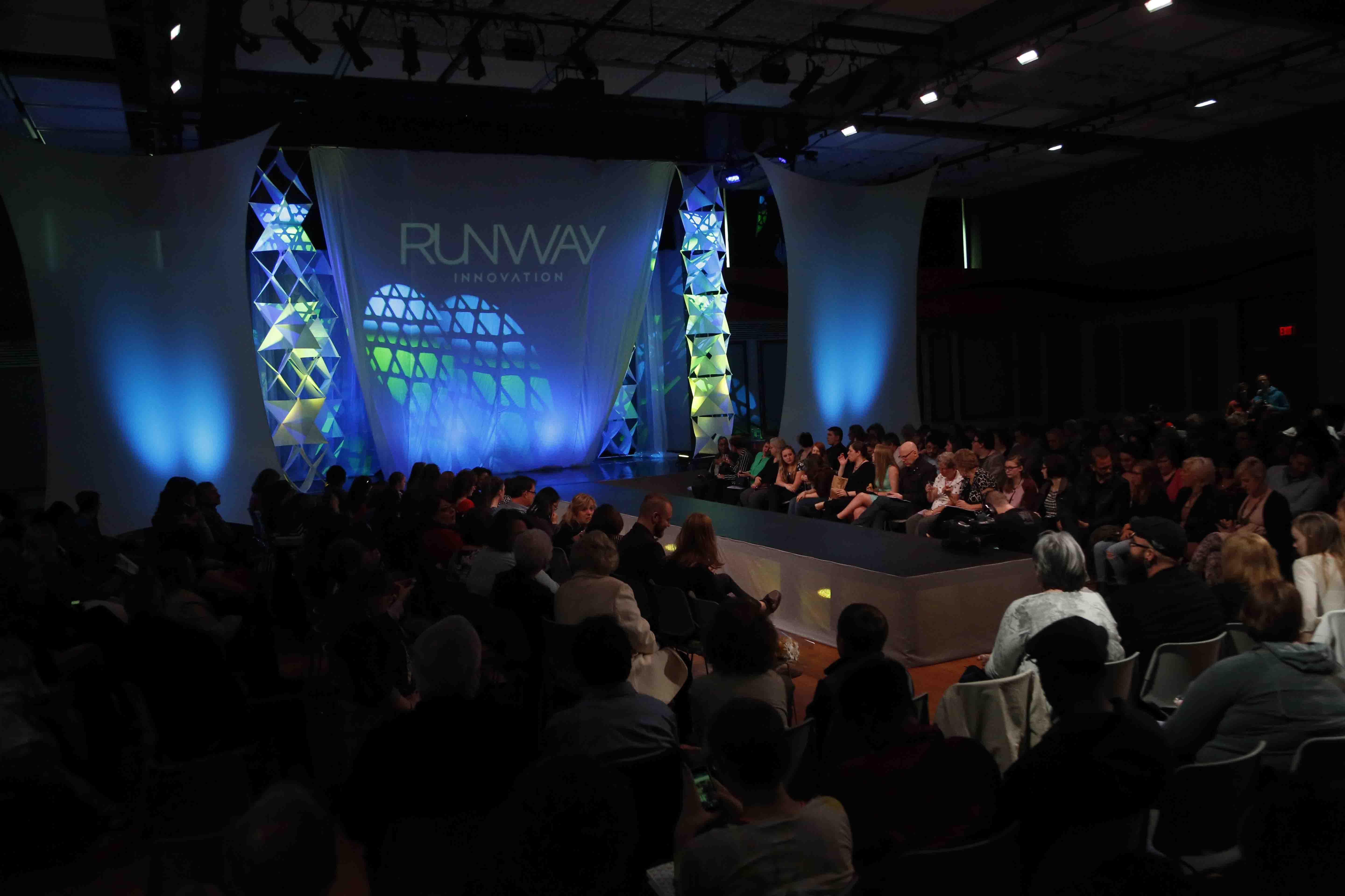 Runway will feature wallpaper designs from Charles Burchfield during his time at a wallpaper company.