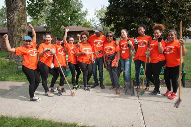 Dare to Care Day proves to be successful as campus gives back to local community