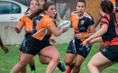 Women's rugby rumbles past RIT, 103-0