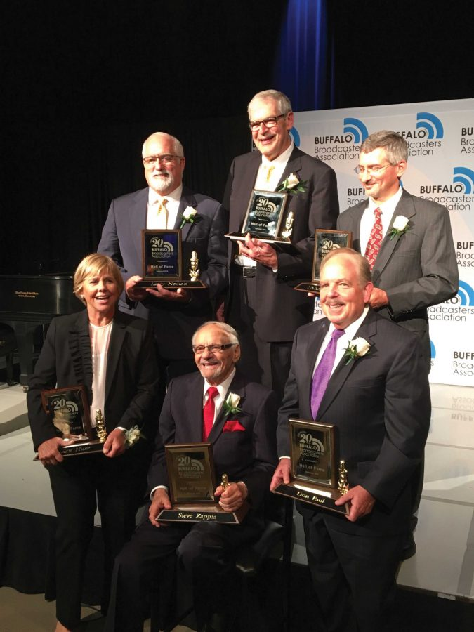 From board boy to Buffalo legend, former Buff State professor honored at ceremony