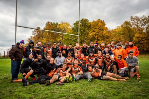 Men's rugby falls, women's rugby looks to postseason