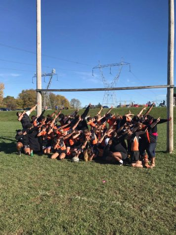 Women's rugby dabs on 'em, rolls to regional championship