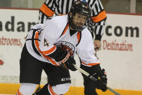 As his collegiate hockey career nears its end, Jake Rosen walks away with lasting bonds