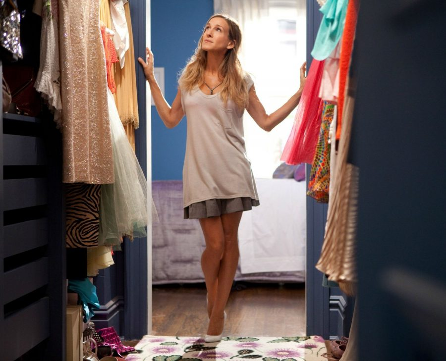 Still+of+Carrie+Bradshaw+from+HBO%27s+Sex+and+the+City