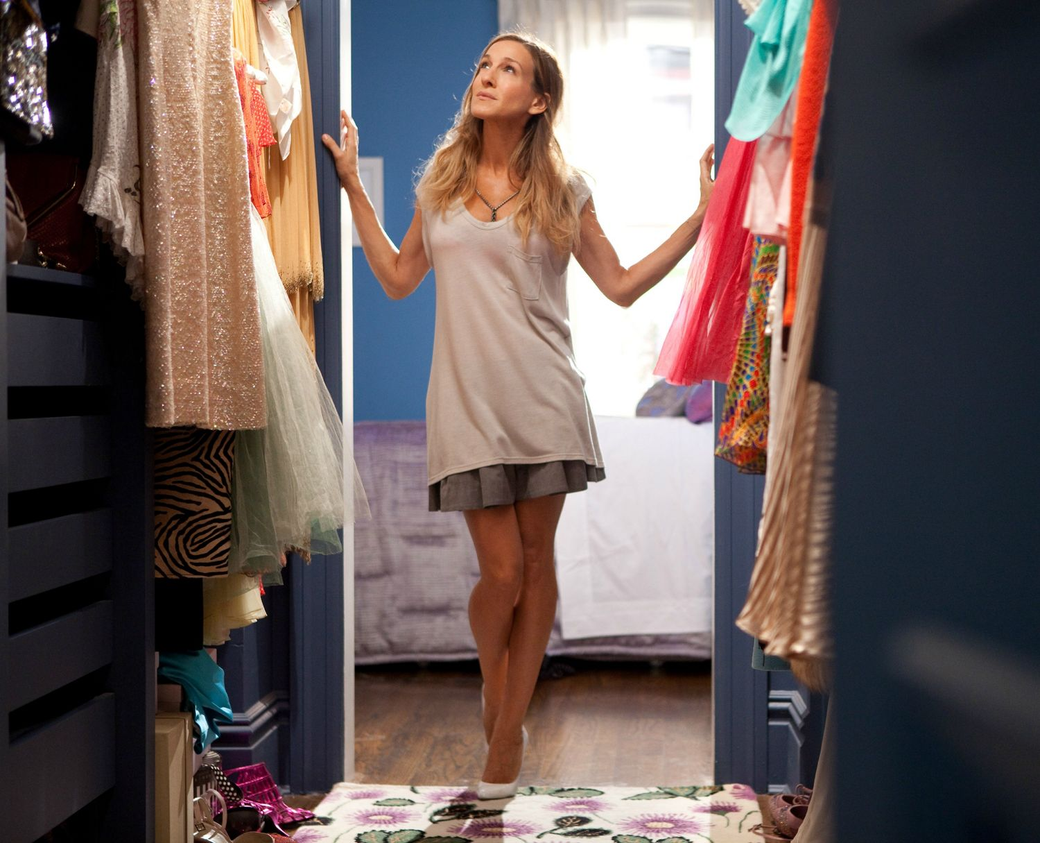 Still of Carrie Bradshaw from HBO's Sex and the City