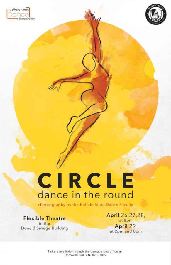 Buffalo State Dance Association performs 'Circle Dance in the Round' this week