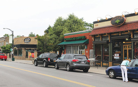 Elmwood Avenue offers a lively atmosphere for students.