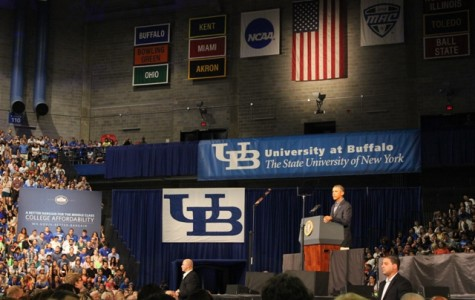 Obama divulges new higher education initiative during visit to UB
