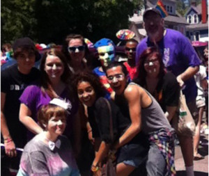 Pride Alliance parades for LGBT awareness, equality
