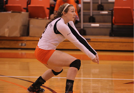 Sophomore Rachelle Kelchin was fourth on the Bengals with 269 digs last season.