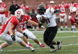 Caesarae Lewis and the Bengals hope to keep their offense rolling against Brockport.