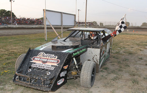 Hockey player Brett Hope finished ninth in the mini-mod division at the South Buxton Raceway in Ontario, Canada this summer.