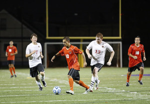 Men's soccer shuts down Spartans in 5-0 shelling Saturday