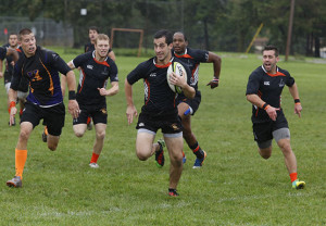 Men's rugby improves to 2-0 with blowout win