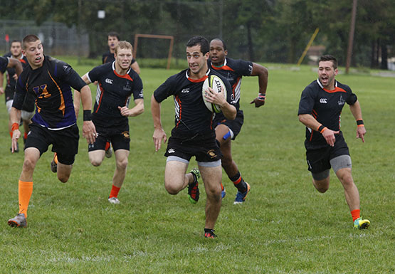 Men's rugby travels to Fredonia Saturday.