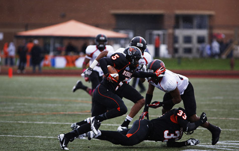 Second half surge spurs second straight win for football