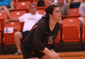 Volleyball ties record win streak but can't break tough New Paltz team