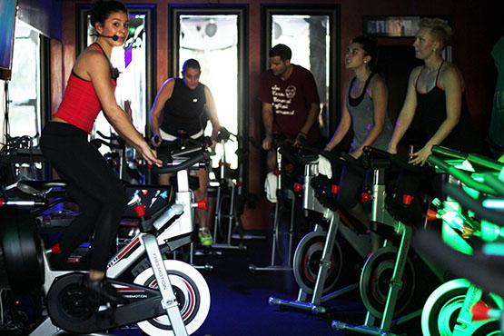 BikeorBar, on Elmwood Avenue, fuses high-tempo spinning with core-focused barre classes to create a unique exercise experience.