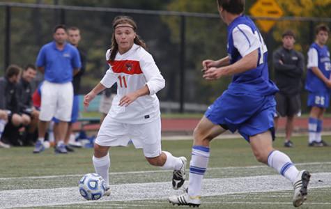 Late goal triggers abrupt end to men's soccer's redemption season