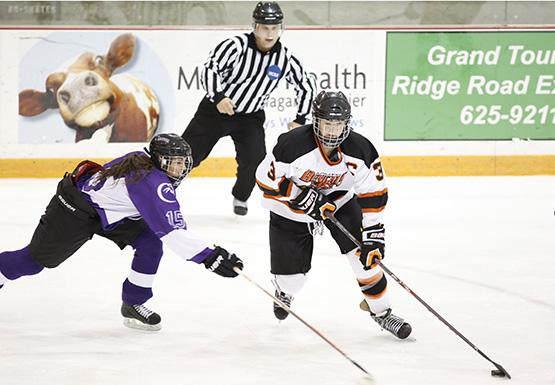 Kara Goodwin had one assist last weekend in Buffalo State's two loses to SUNY Canton.