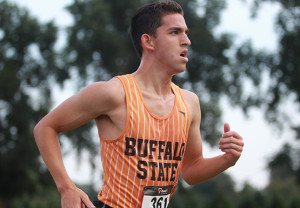 Kyle Foster gad the best time (26:54) of any Buffalo State runner on Saturday