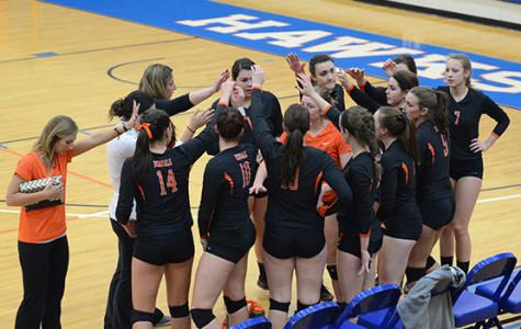 Dream season ends in first round for volleyball