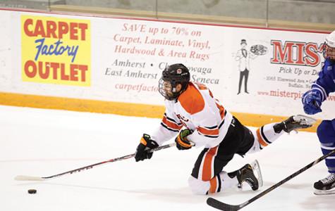 Men's hockey sees weekend road slate curbed by brawl, suspensions