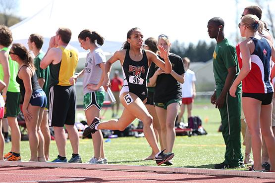 Sophomore Sasa Vann led the Bengals track team, breaking her own school record in the 400m dash by nearly two seconds (56.82)