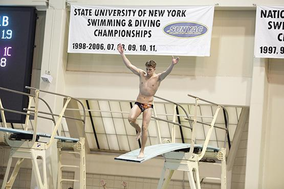 Diver Alec Fleet will compete at the national championships in Indianapolis.