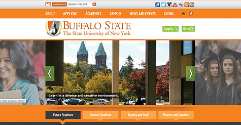Campus website gets facelift, first major update since 2009