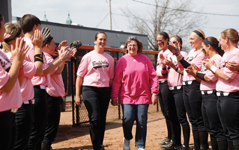 Pink-clad Bengals go to bat against cancer