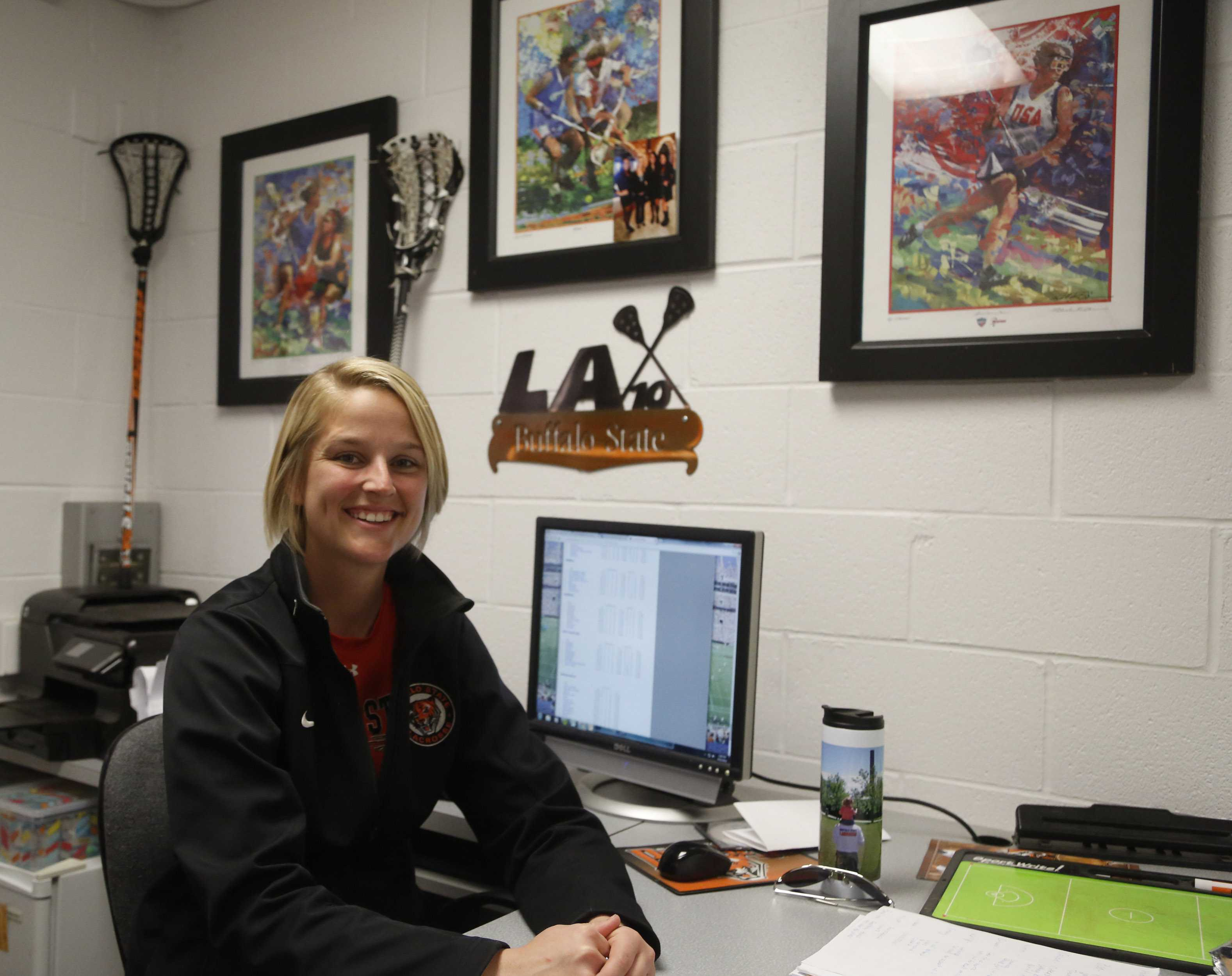 Kelsey Schwan was an assistant for Bengals and was named interim head coach after Meg Stevens left at the end of last season.