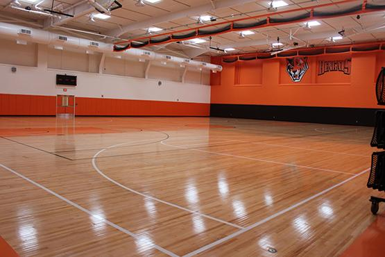 Houston Gym was closed for renovations in fall of 2012. Construction was completed earlier this year in July. The new facilities include updated fitness rooms, weight rooms, locker rooms and classrooms, and a deeper pool designed for diving.