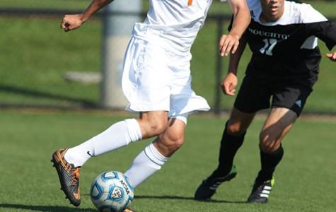 Men's soccer swept in doubleheader over weekend