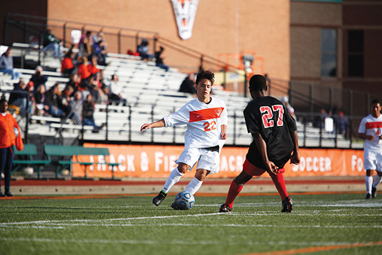 Men's Soccer draws with Fredonia, 1-1