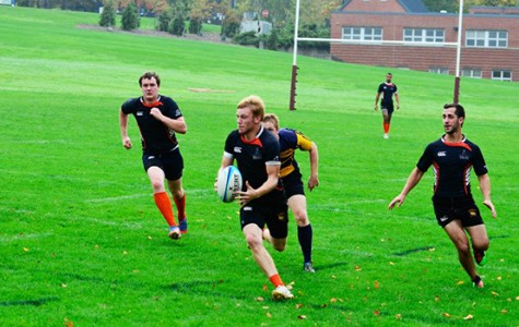 Christian Feickert and men's rugby improved to 2-0 with a win against Geneseo.