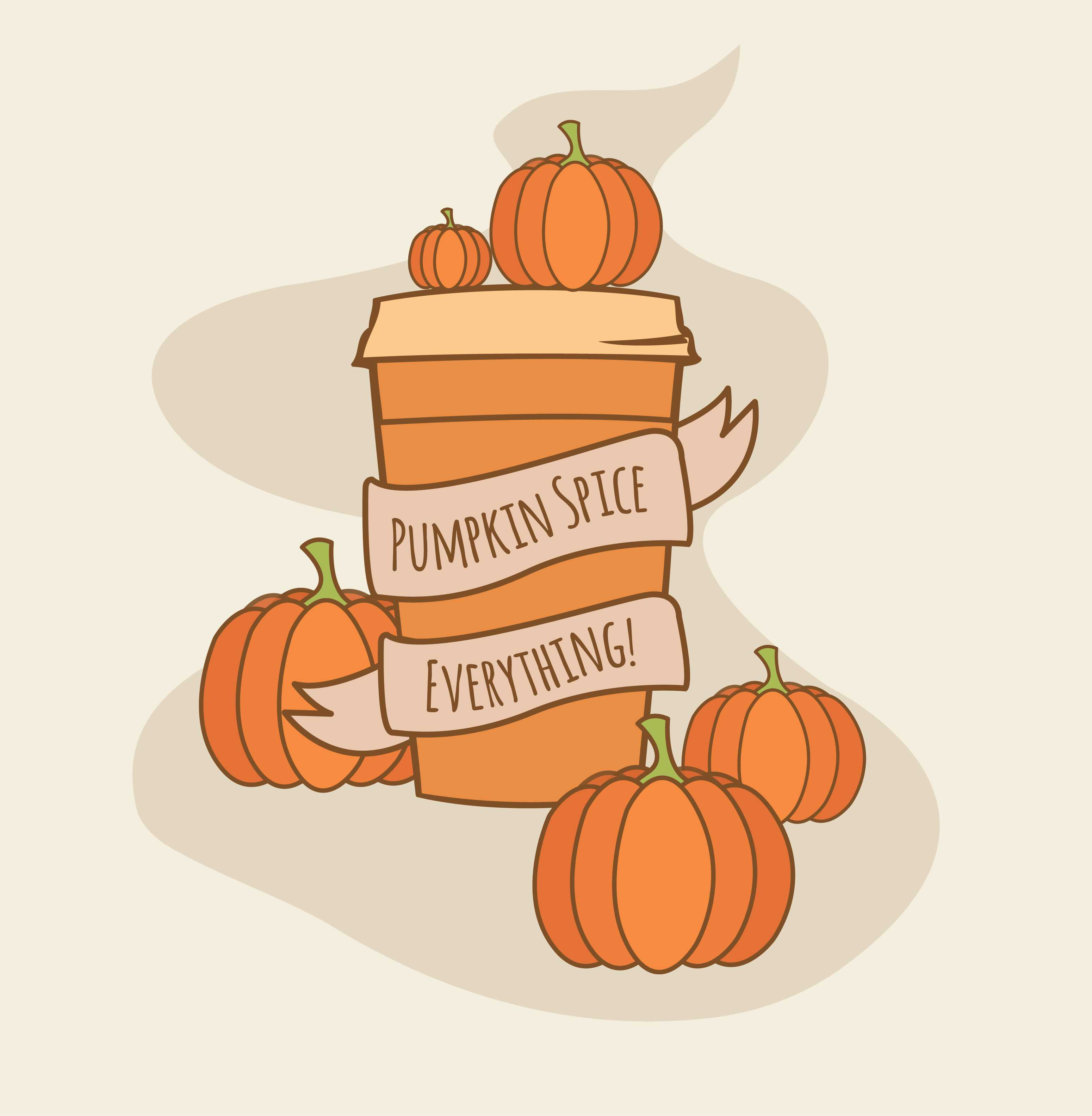 pumpkin spice peaks interest for autumn themed products the record clip art softball spring free free clip art softball