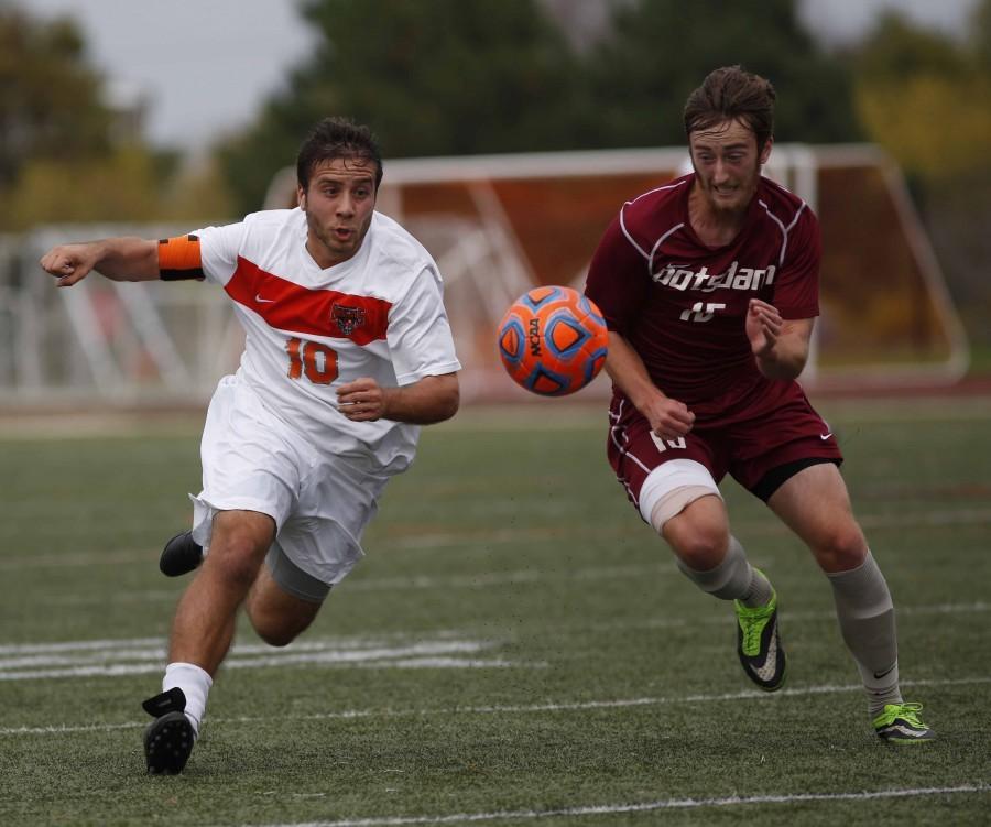 Senior midfielder Franceso Cardillo scored game-tying goal to force OT