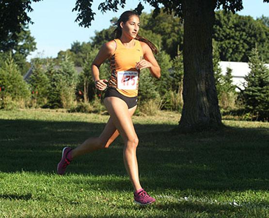 Sabrina Brooks Brooks led the womens team  with a time of 23:20 and finishing 23rd out of the 309 runners.