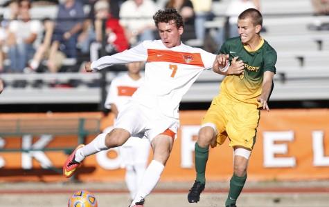 Men's soccer earns 1-1 draw