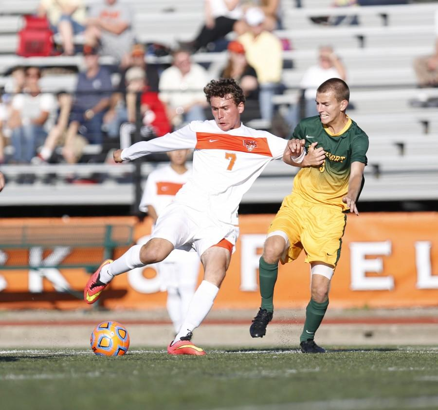 Joe Vucic tallied his eighth goal of season in a 1-1 draw with Fredonia.
