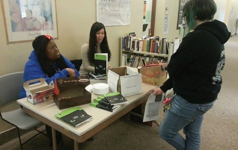 Elmwood Leaves Journal holds book drive on campus