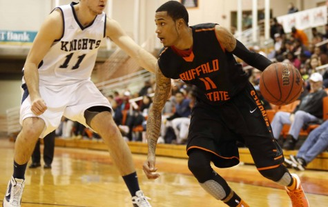 Hot shooting leads men's basketball to win in home opener