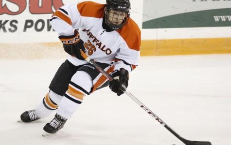 Men's hockey falls to SUNYACs best