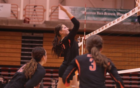 Jessica Crooks led the Bengals with 24 kills over the weekend.
