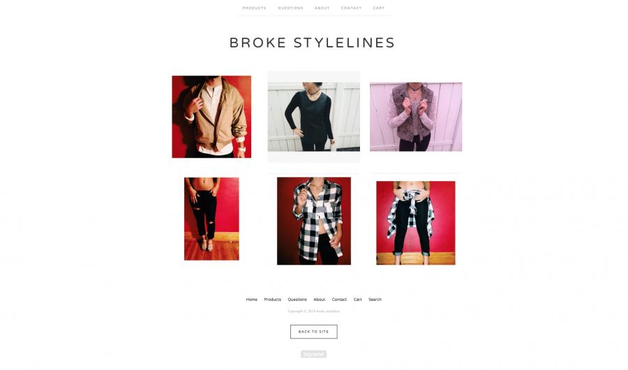 Broke Stylelines bust boarders